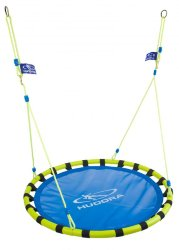 Качели HUDORA Nest Swing Alu 120, blue/yellow
